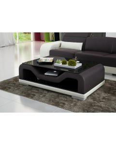 Table basse design en similicuir FORCE
