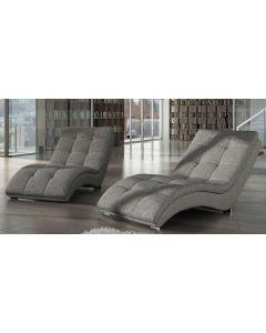 Chaise longue tissu HEAVEN