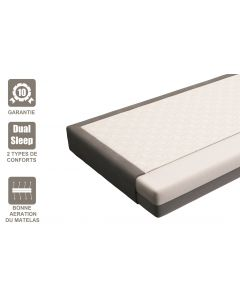 MATELAS 2 types de conforts DUAL-SLEEP