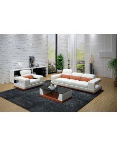 Canapé 3+1 cuir ou tissu NOVARE